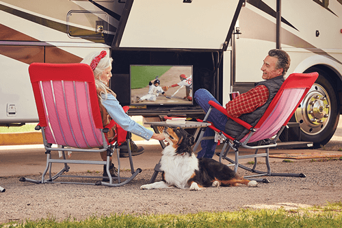 Watch DISH TV Outdoors in the RV- Grants Pass, OR - On Site Satellite - DISH Authorized Retailer